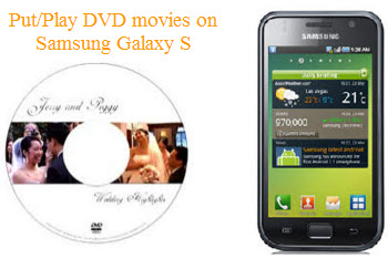 Transfer and play DVD disc on Galaxy S