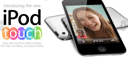 apple new ipod touch capture