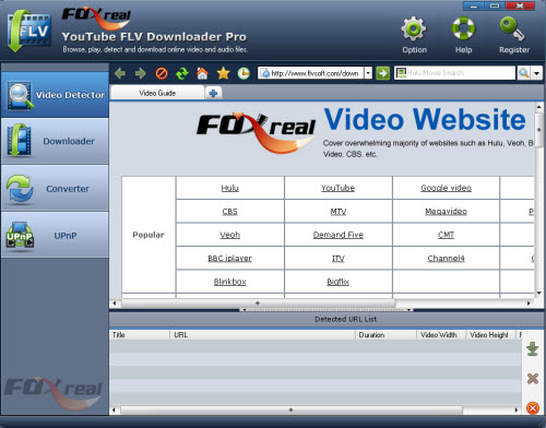 Best FLV Downloader