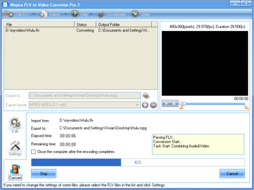 how to create vob ifo and bup files