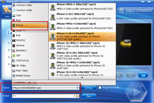 mkv to iphone 4 converter