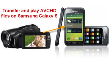 Transfer and Play AVCHD files on Samsung Galaxy S