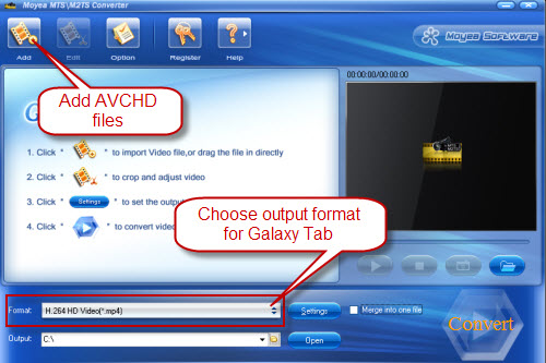 how to play avchd