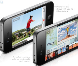 Enjoy HD videos on iPhone 4 for a good visual effect