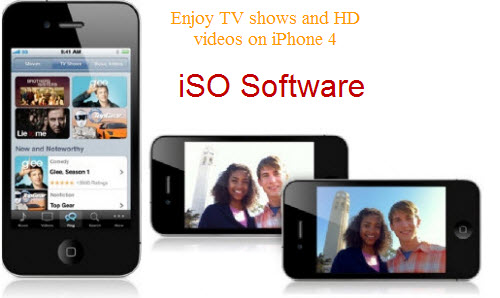 enjoy hd videos and tv shows on iPhone 4